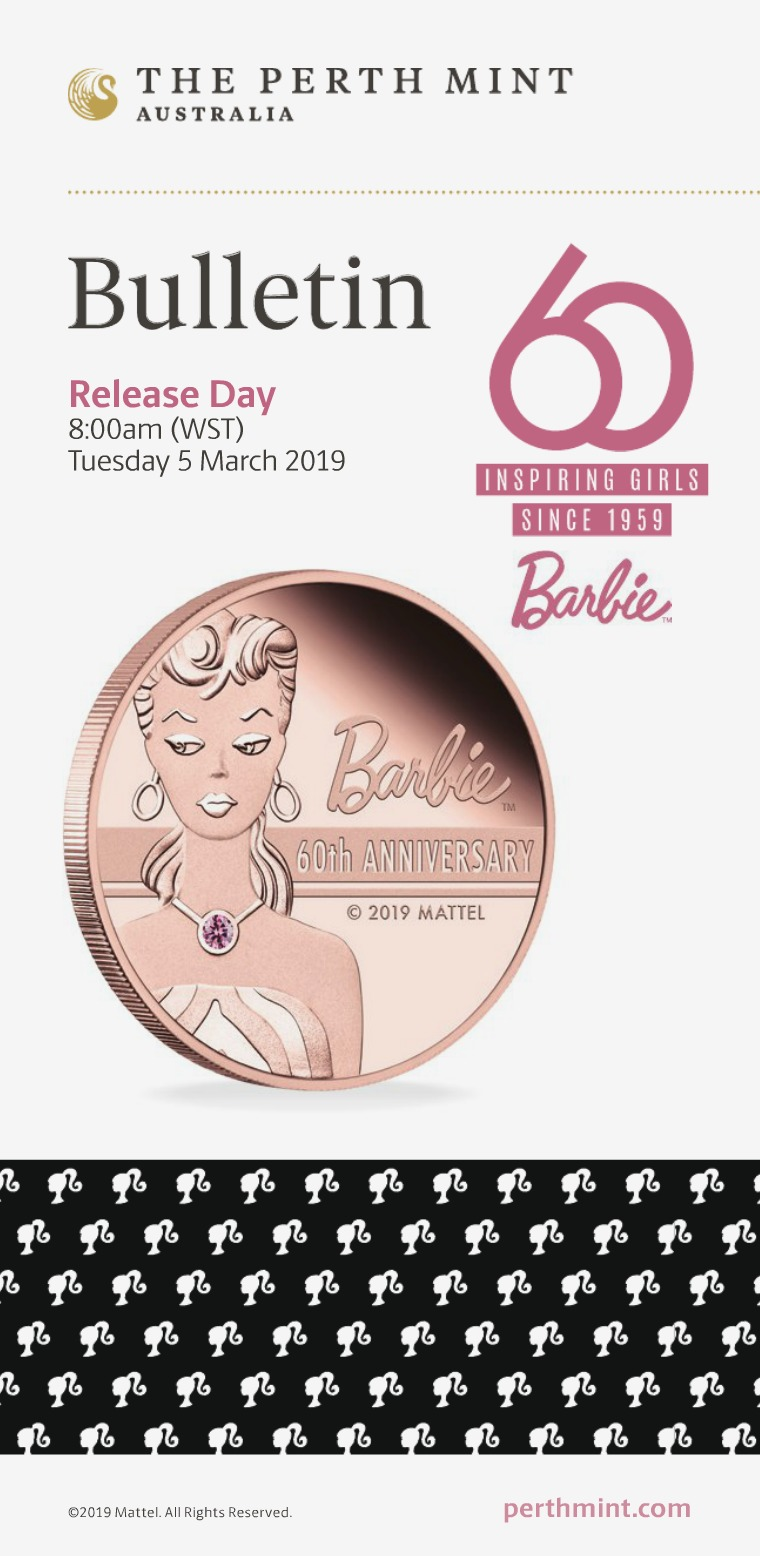 The Perth Mint 2019 March Coin Bulletin