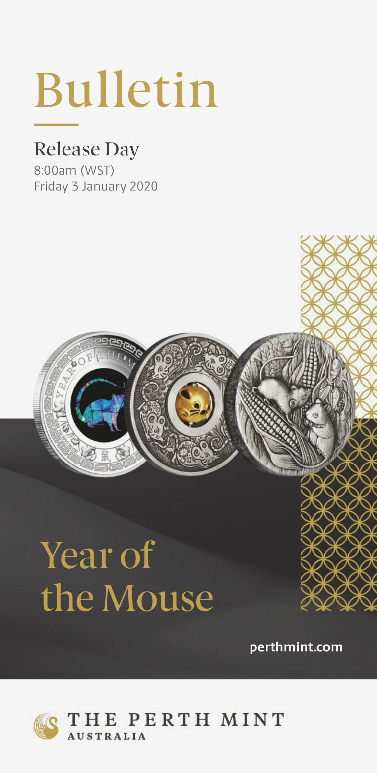 The Perth Mint 2020 January Coin Bulletin