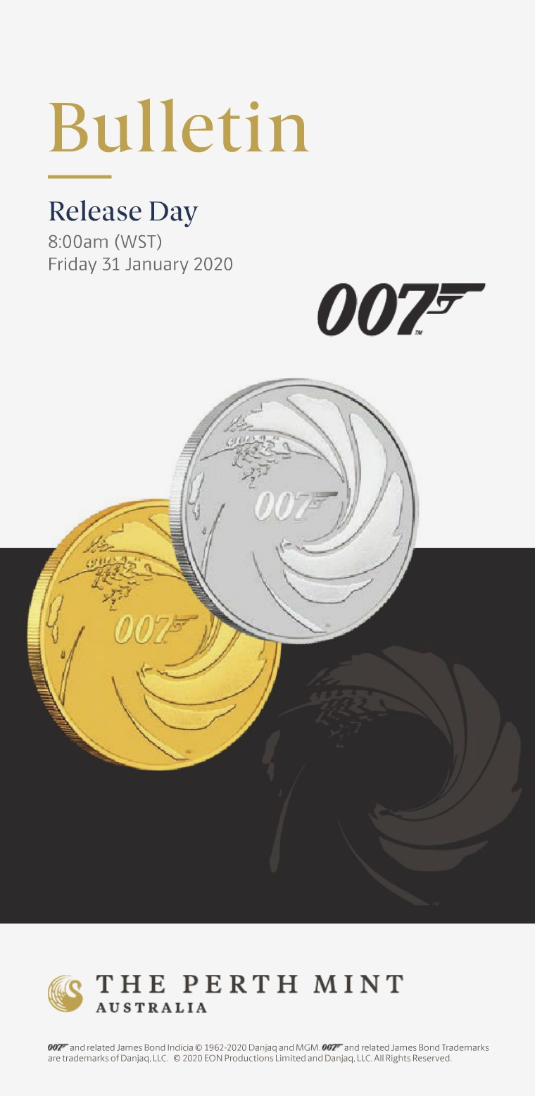 The Perth Mint 2020 February Coin Bulletin