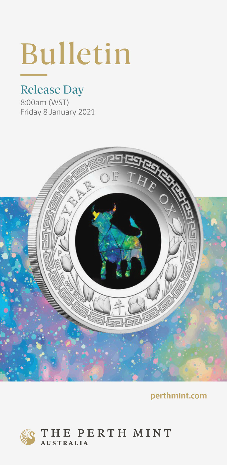 The Perth Mint 2021 January Coin Bulletin
