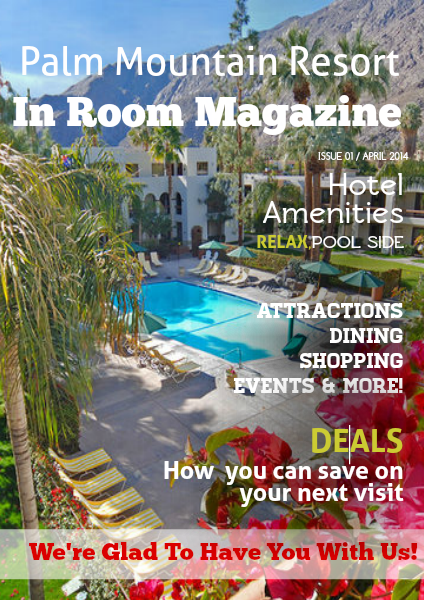 InRoom Magazine Palm Mountain Resort Vol. 1