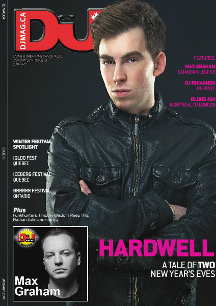 DJ Mag Canada 013 - January 2014
