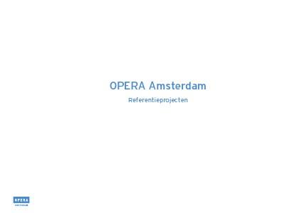 OPERA AMSTERDAM 2013