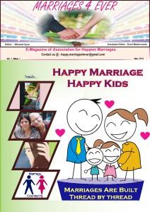 Marriages 4 ever , Vol. 1 Nov. 2013