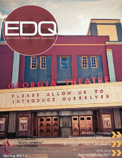 EDQ Quarterly Newsletter Spring 2014