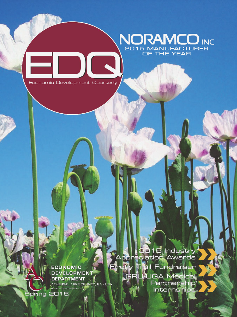 EDQ Quarterly Newsletter Spring 2015