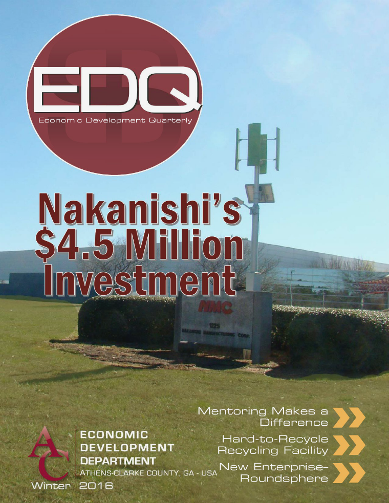 EDQ Quarterly Newsletter Winter 2016