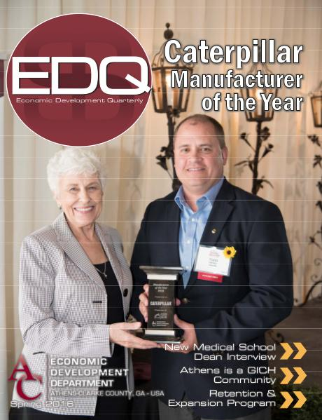 EDQ Quarterly Newsletter Spring 2016