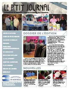 Le P'tit journal - Compagnons de Montréal Novembre 2013 - Février 2014