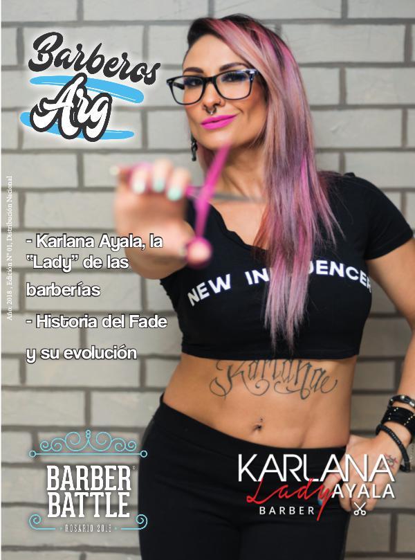 Barberos Argentinos Edición N1 JUNIO Barberos Argentinos N1 JUNIO