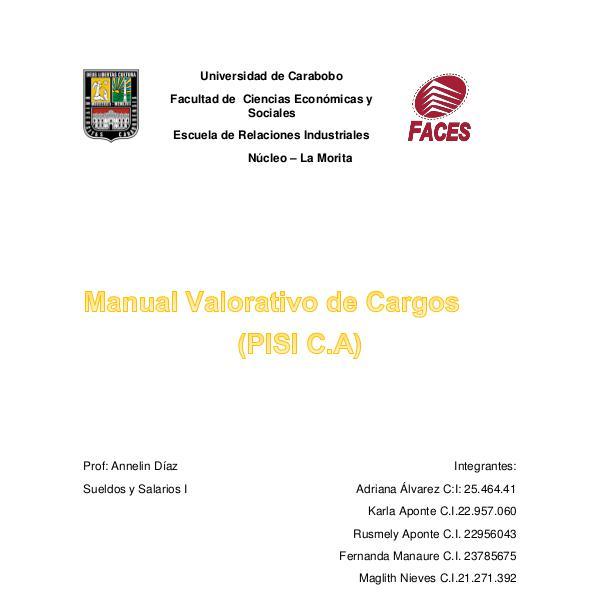 Manual de sueldos y salarios II Manual Final resaltado