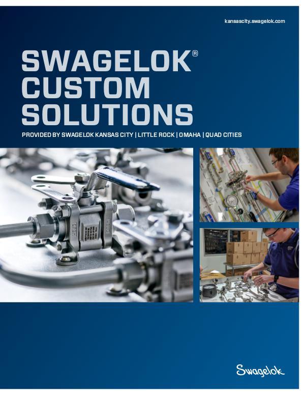 Brochures Swagelok Custom Solutions - Kansas City