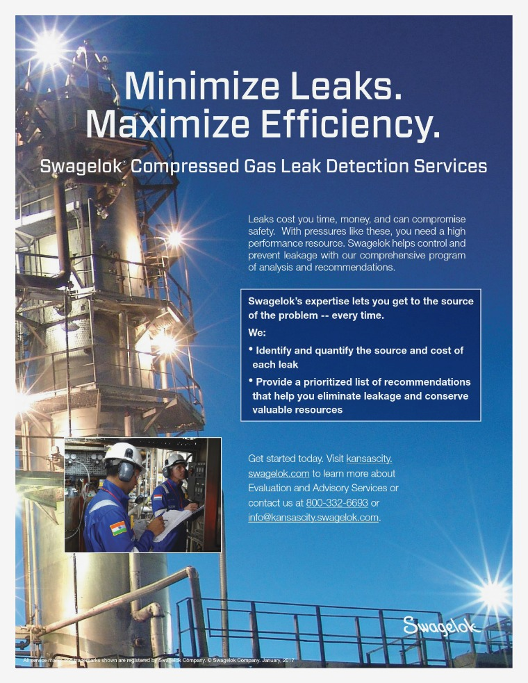 Fliers Compressed Gas Leak Detection Services