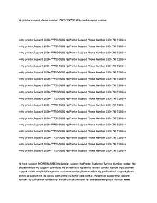 HP PRinter Support Number 18007909186 HP printCustomer Service Number