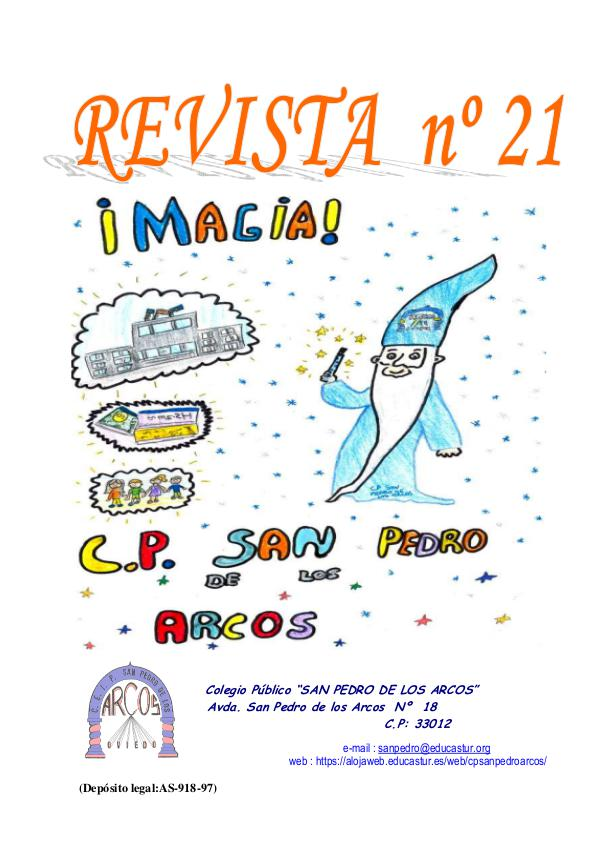 Revista cole San Pedro REV 21