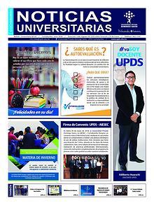 Boletín Universitario UPDS junio 2018