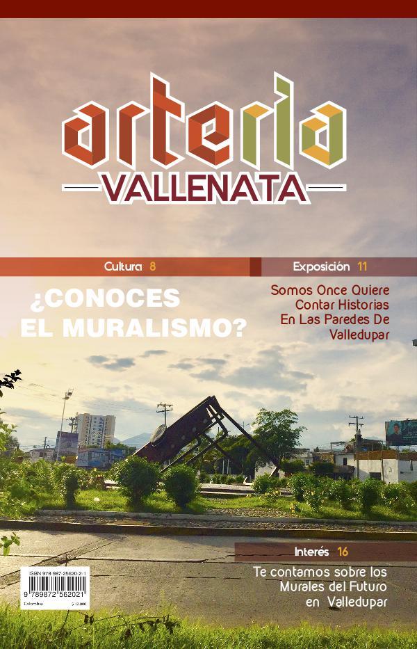 1° Edición Revista Arteria Vallenata Revista Arteria Vallenata