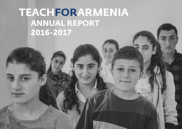 Teach For Armenia Annual Reports Teach For Armenia Annual Report 2016-2017