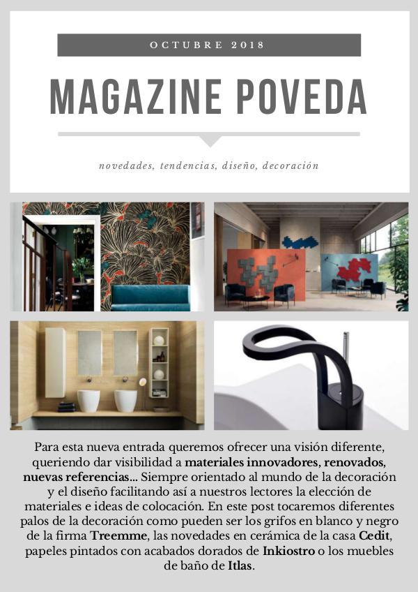 Poveda Magazine #1 Poveda Magazine#1