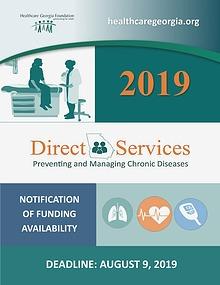 2019 Direct Services Grant Program NOFA