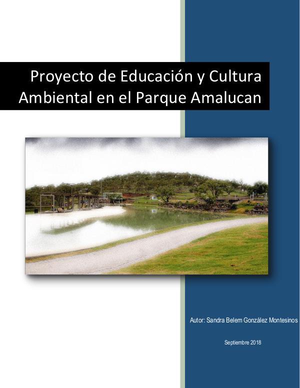 Poyecto Turístico Proyecto de Educación y Cultura Ambiental en el Pa