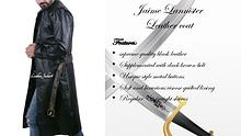 Jaime lannister leather coat