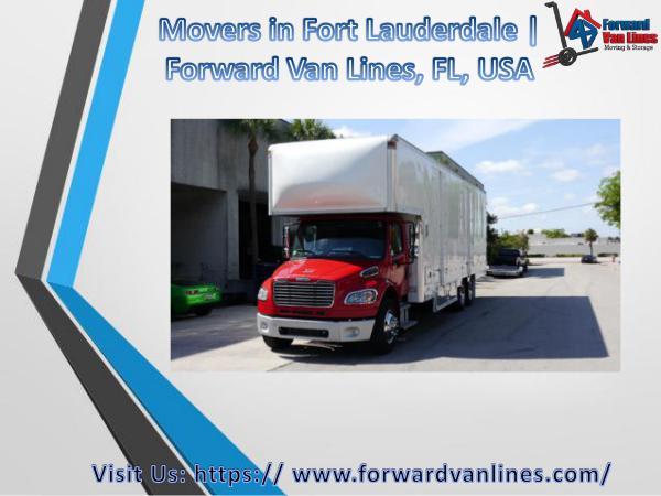 Best Movers in Fort Lauderdale   Forward Van Lines Best Movers in Fort Lauderdale   Forward Van Lines
