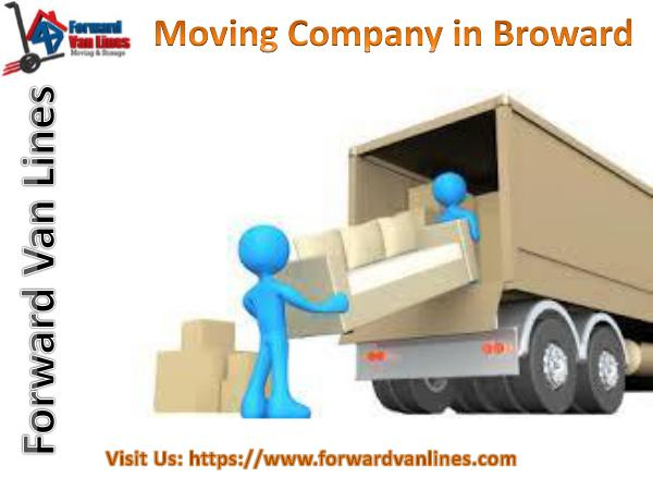 Moving Company in Broward | Forward Van Lines, USA Best Moving Company in Broward | Forward Van Lines