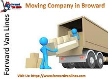 Moving Company in Broward | Forward Van Lines, USA