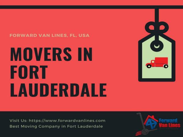 Best Movers in Fort Lauderdale | Forward Van Lines Movers in Fort lauderdale, USA | Forward Van Lines