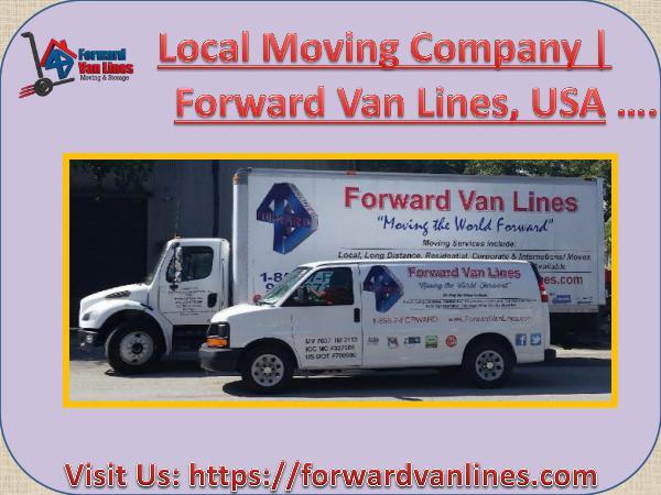 Local Moving Company Best Local Moving Company | Forward Van Lines
