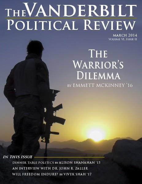 Vanderbilt Political Review Winter 2014