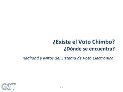 Sobre el voto chimbo noviembre 2013 nov 2013