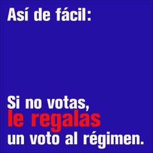 Si no votas nov 13 nov 13