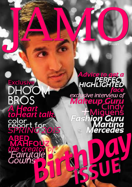 JAMO magazine January 2015/ 13th issue Special Edition