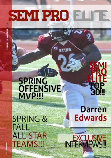 Semi Pro Elite The Magazine Issue #1