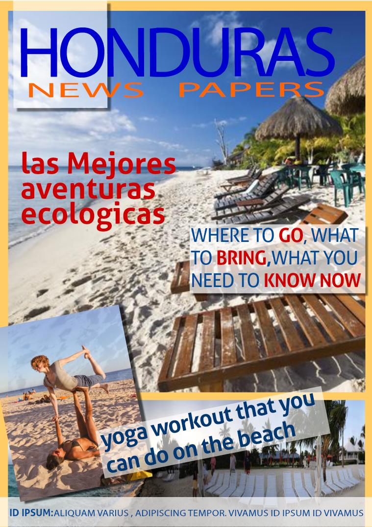 HONDURAS NEWS PAPER VOL 1 JUN 2015
