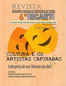 6º ECAET Cultura e os Artistas Capixabas!