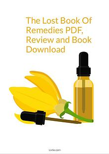 The Lost Book Of Remedies PDF by Claude Davis Review and Download