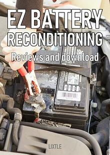 EZ Battery Reconditioning PDF Download – Course, Book Reviews