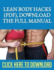 Lean Body Hacks PDF Recipe Ingredients Download The Manual