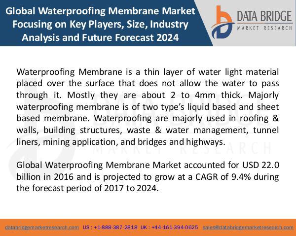 Global Waterproofing Membrane Market