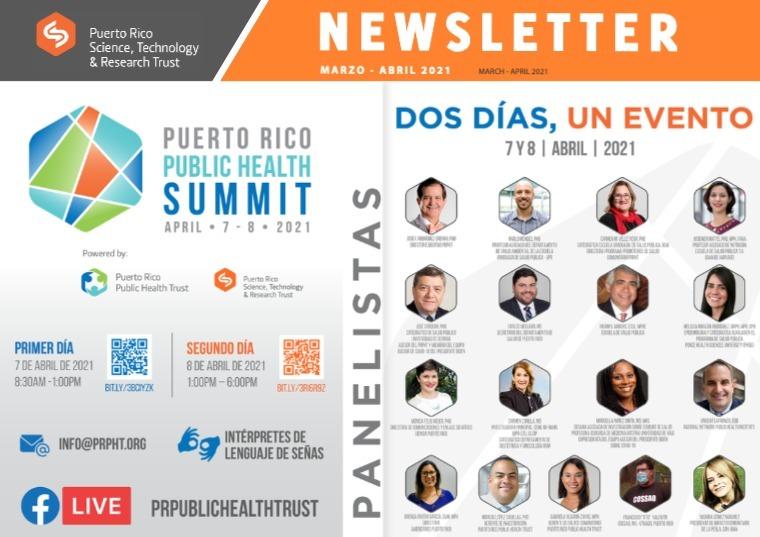 PRST Digital Newsletter Marzo - Abril 2021