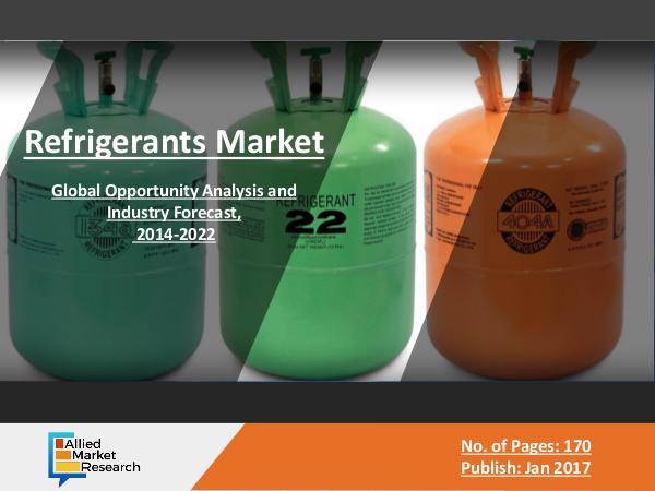 Allied Reports Refrigerants Market