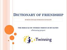 Dictionary of friendship