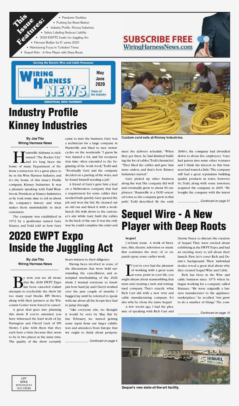 Wiring Harness News WHN May-Jun 2020