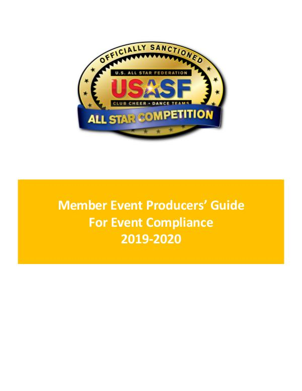 Member Event Producers Guide For Event Compliance 2019-2020 USASF_EP_Sanctioned-Event-Guide_19-20
