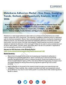 Waterborne Adhesives Industry Analysis by Sales, Revenue, Production