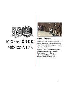 Migración de México a USA