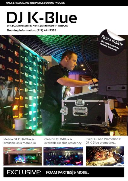 Aurora Entertainment Product Guide DJ K-Blue